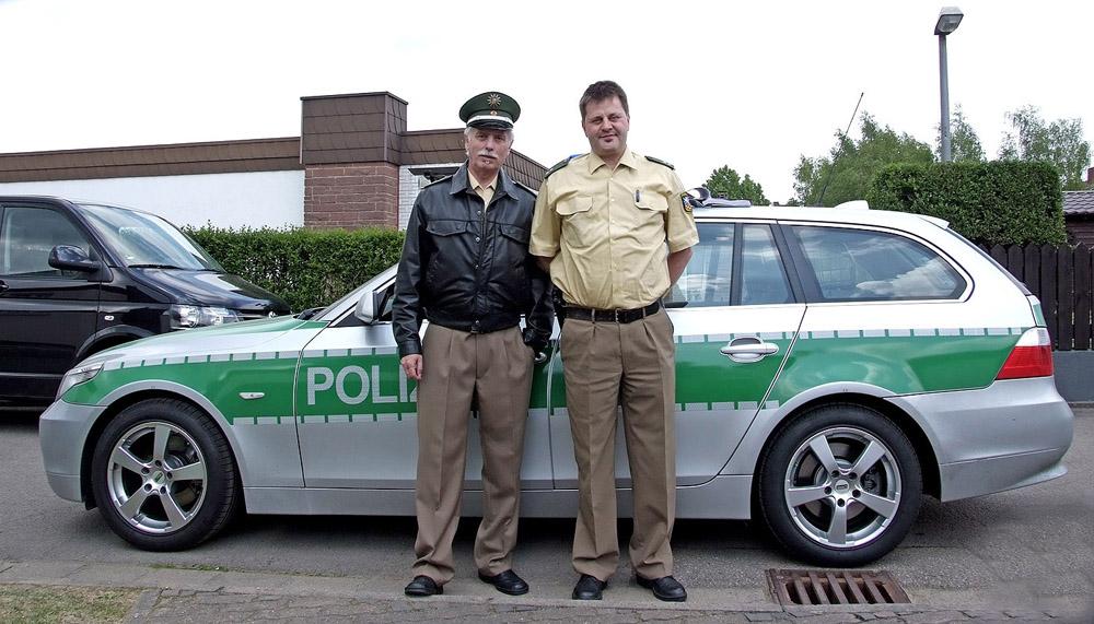 Marketingfachmann Rainer Prüm erneut als Filmkomparse im SR Tatort.