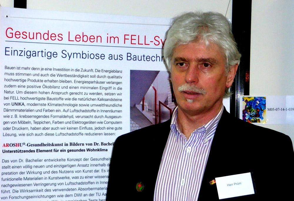 Marketingfachmann Rainer Prüm unterstütze auch Dr. Bachelier und seiner AROSHU® Gesundheitskunst.