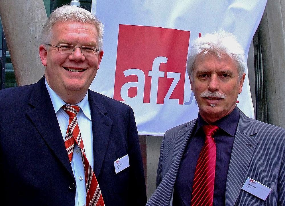 Marketingfachmann Rainer Prüm beim 125. Geburtstag der Allgemeinen Fleischerzeitung in Frankfurt.