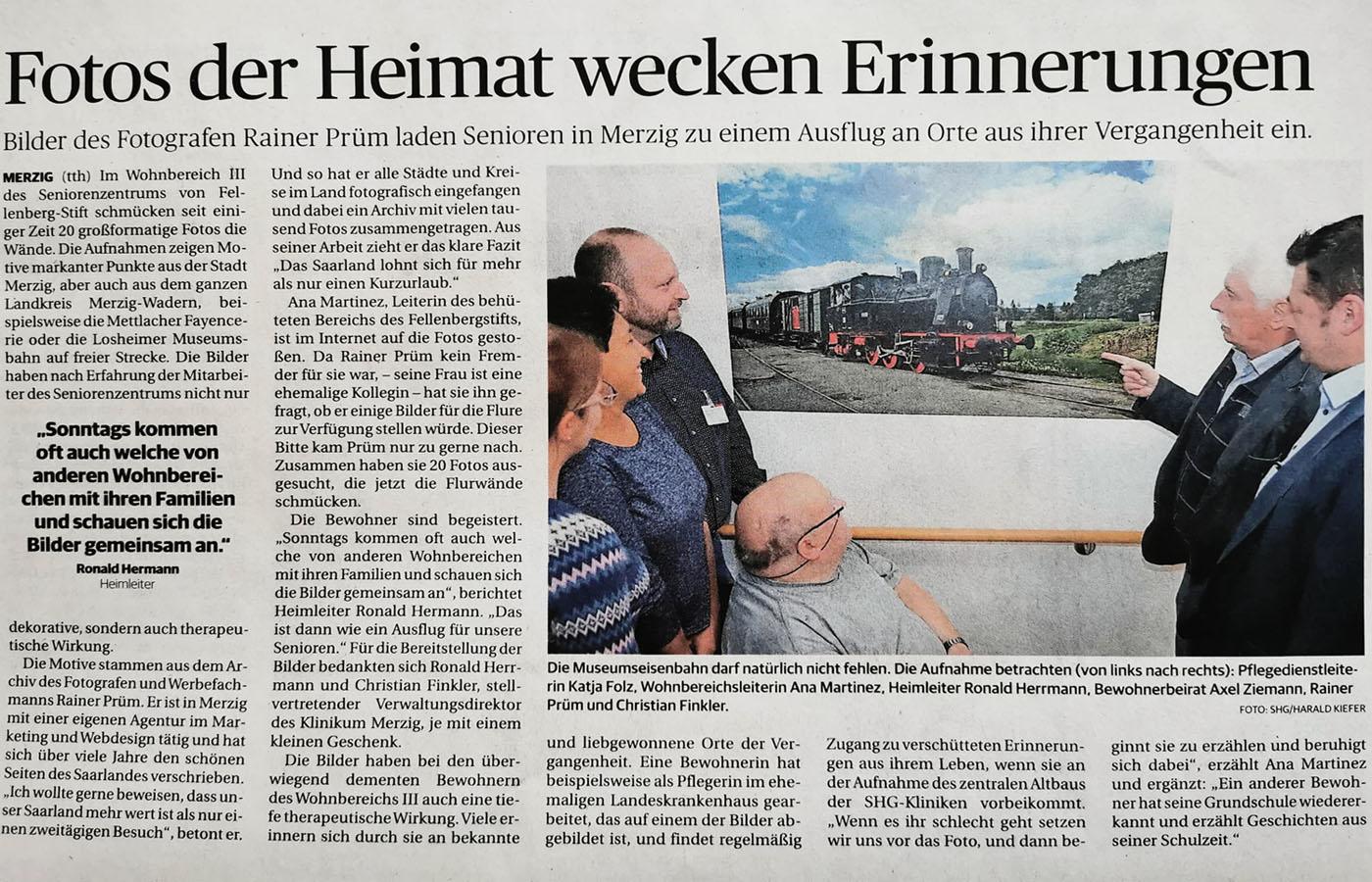 Fotos der Heimat wecken Erinnerungen. …..